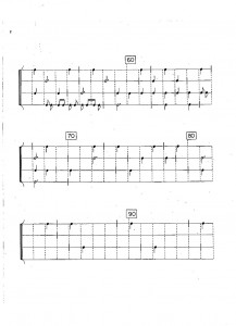 Cage Quartet Mvmt 1 2