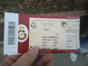 I've got a Gülden ticket...