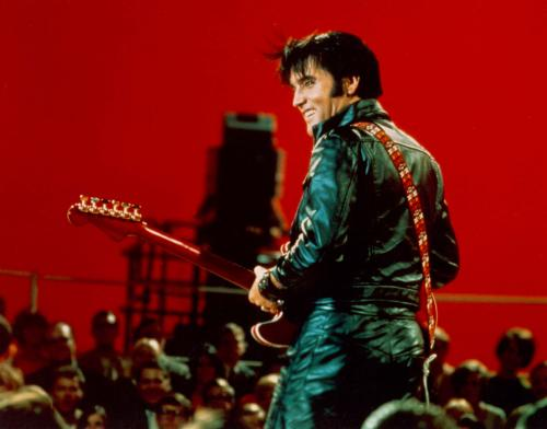 Just in case anyone's unsure, this is Elvis. From his 1968 Comeback Special. Truly great.